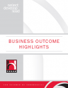 Business outcome highlights