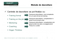 Prezentare Business-Edu Forum 2012 – PLAY, LEARN, PERFORM - HART Consulting