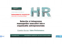 Eusebiu Burcas - Executives Selection and Induction within an Antreprenorial Organisation - HART Consulting
