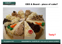 Sergiu Negut - Achieving Buy-in at Board Level: What the CEO Should Look Like - HART Consulting