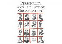 Personality and the Fate of Organizations - HART Consulting